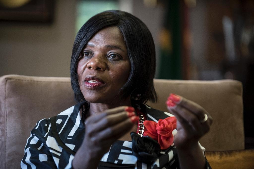 South Africa's Public Protector Thuli Madonsela has been widely praised for her diligent work unearthing official misconduct (AFP Photo/Stefan Heunis)