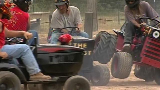 Indiana lawn mower derby