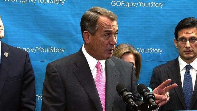 Boehner denounces conservative groups opposing budget deal