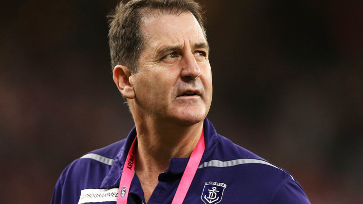 Dockers sack Ross Lyon and CEO in bombshell cleanout