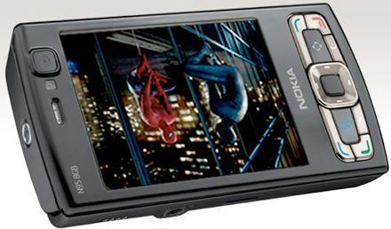 Nokia's N95 8GB released with a Spider-Man 3 surprise