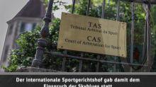 CAS-Urteil: City-Sperre aufgehoben