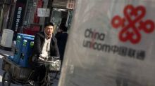 Unicom Shares Rise in Shanghai and Hong Kong on $11.7 Billion Sale