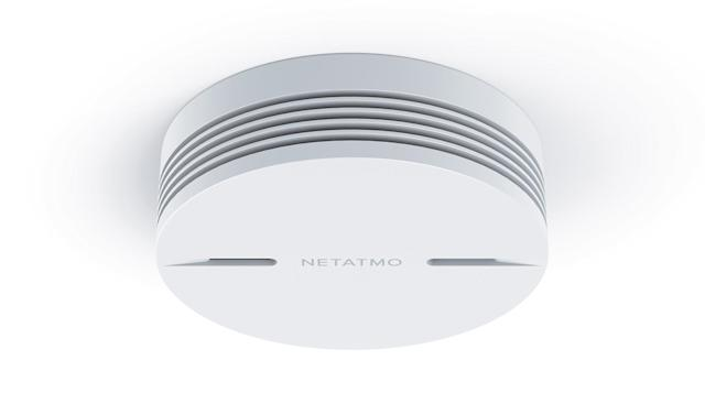 Netatmo adds a connected smoke alarm to its smart home range