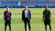 Doumbia y Sandro, con ganas de crecer en el Huesca
