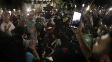 Rare protests in Egypt call for president to step down