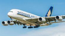 Singapore Airlines transforme en restaurant un A380 au sol