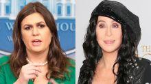 Cher fashion shames Sarah Huckabee Sanders: 'Stop dressing like a sister wife'