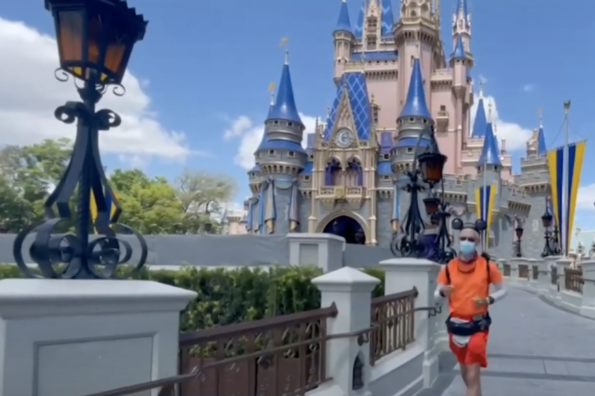 Man runs from Disneyland to Disney World for diabetes awareness