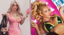 Kim Kardashian se inspira em 'Legalmente Loira' para o Halloween