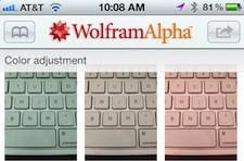 Wolfram Alpha for iPhone 1.4 wows with image manipulation, Best Buy purchasing