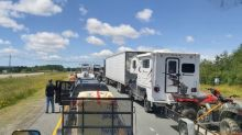 Vehicles simply waved through at clogged N.B. border checkpoint, travellers say