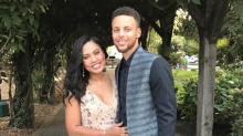 Ayesha Curry wore the most romantic summer dress to a wedding over the weekend