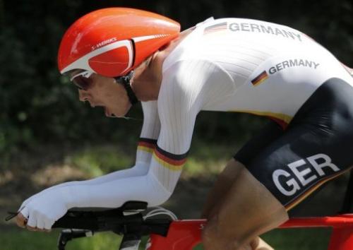 El alemán Tony Martin, en los Juegos Olímpicos de Londres
