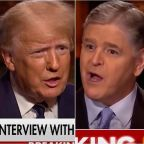 Sean Hannity Mocked For 'Insane' Praise Of Trump During Bonkers Fox News Interview