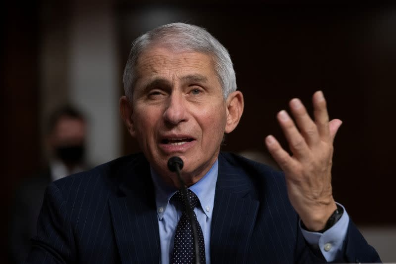 Fauci, Redfield testify at U.S. Senate hearing on coronavirus response in Washington