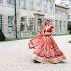 The Bride Wore a Red Lehenga, Then a Vivienne Westwood Gown at This Indian-English Wedding