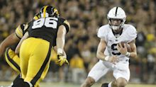 Penn State squeaks by Iowa with last-second touchdown pass