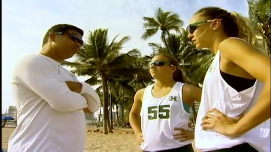 Rainbow Wahine sand volleyball team prepare for second season