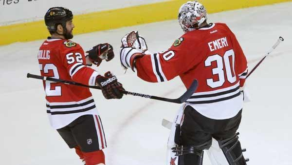 Blackhawks go for NHL record tonight vs. San Jose