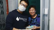 Alex Fong distributes face masks on 40th birthday