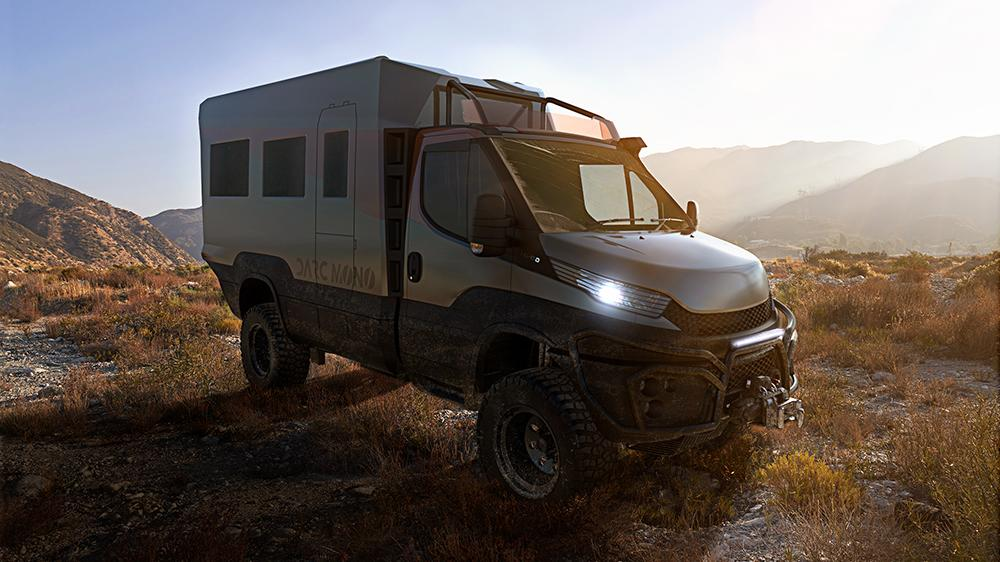 This New Camper Is an Off-Road Beast With an Luxe Interior Like a Scandinavian Hotel - Yahoo Lifestyle