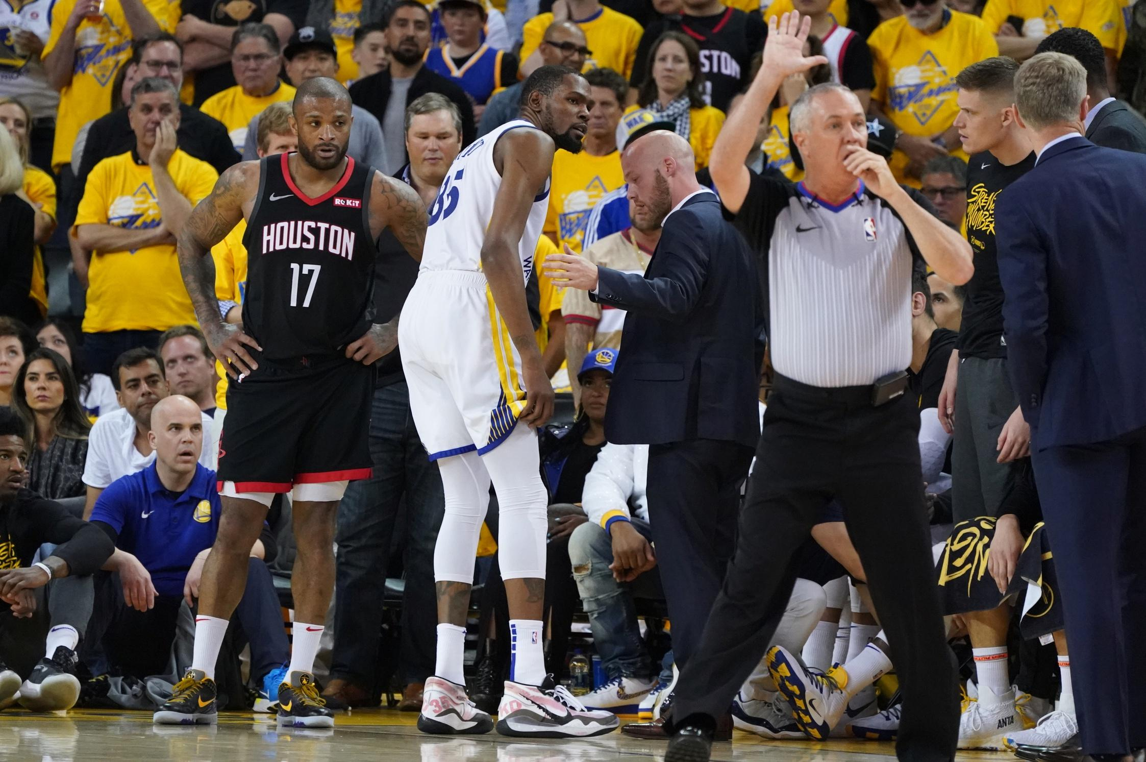 696e8fa8aa3 Why Kevin Durant s injury is Warriors blessing in disguise vs. Blazers