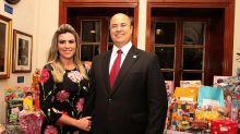Empresa de Helena Witzel, esposa do governador, recebia R$ 15 mil mensais de empresa suspeita