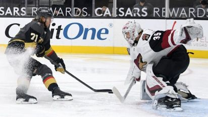 Golden Knights find way to win vs. hungry Coyotes
