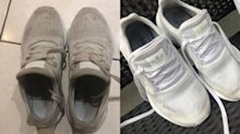 $1.25 Aldi item 'like magic' on filthy sneakers