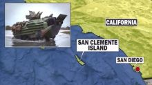 1 Marine dead, 8 missing after amphibious vehicle accident