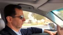 Syrian president makes unusual driving tour into eastern Ghouta