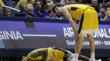 No. 13 West Virginia stunned by Buffalo