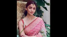 Sari Lovers, Alia Bhatt's Printed Sari Is What You Need For Your BFFs Wedding
