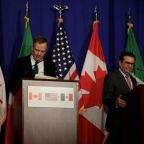 NAFTA negotiators trade barbs, indicate wide differences