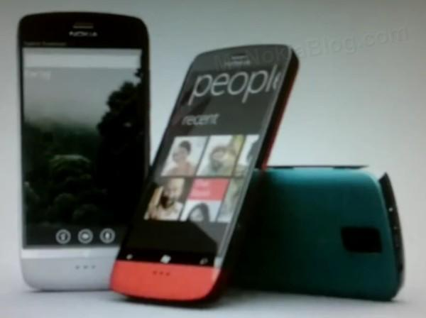 New Nokia WP7 handsets either leaked or faked, it's hard to tell (video)