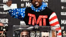 Why Floyd Mayweather wore a No. 48 hat ahead of his 50th fight