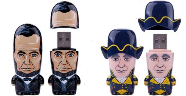 Mimobot's US Presidents flash drives give Americans patriotic storage