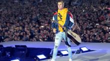 Justin Bieber Dodges Water Bottle From Crowd After Refusing to Sing 'Despacito': 'I Don't Even Know It'