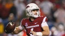 College football notebook: Arkansas quarterback Storey to miss game