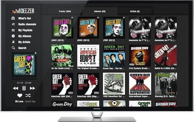 Deezer music service expands as it launches on Philips and Panasonic Smart TVs