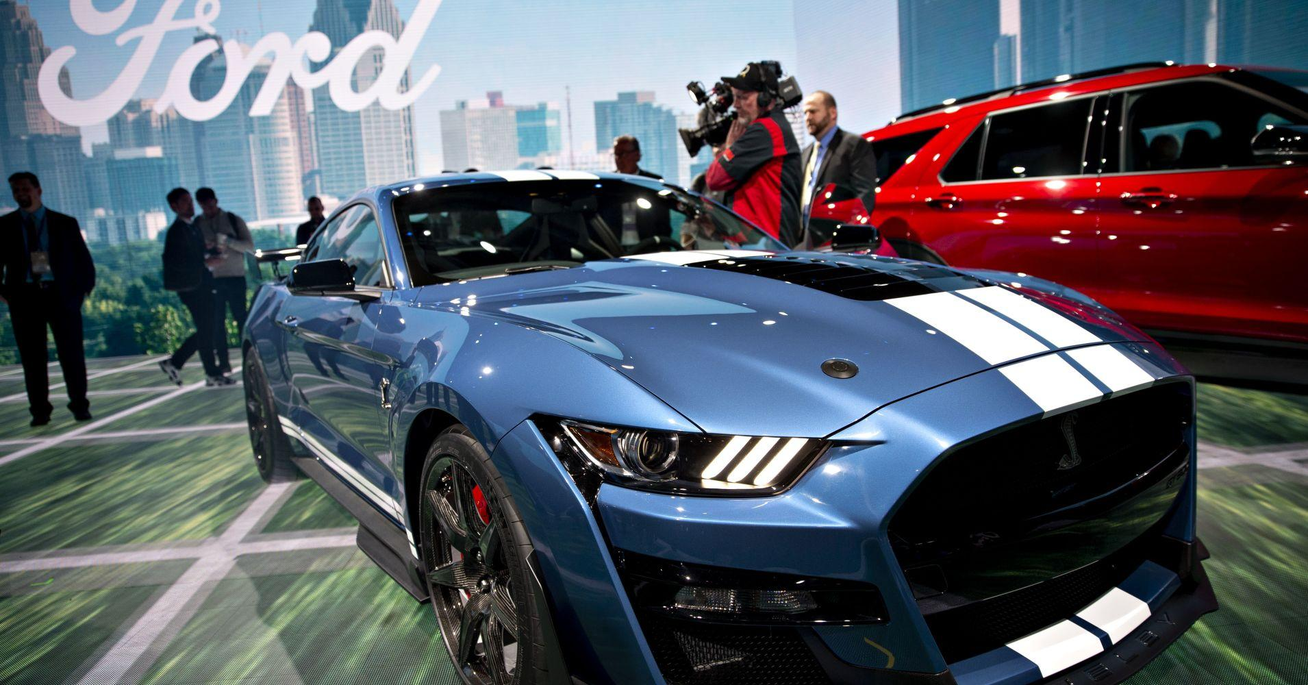 Ford ups the power on iconic mustang muscle car with new performance