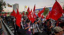 Pro-democracy protest in Thailand passes without violence