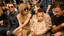 North West Steals the Show (Again) at Yeezy Season 2