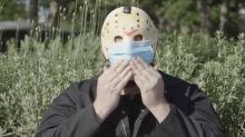 'Friday the 13th' slayer Jason Voorhees endorses mask-wearing in a new PSA