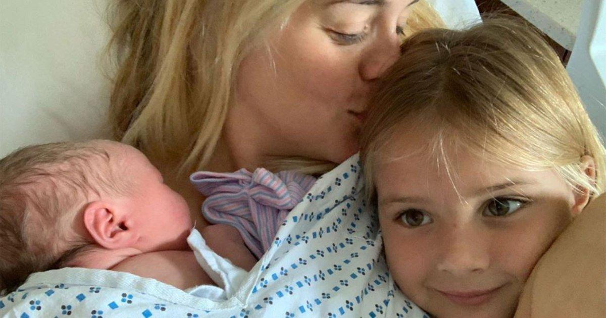 Daphne Oz Shares Sweet Moment Her Eldest Child Met Baby ...