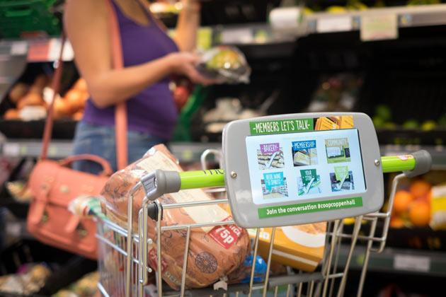Co-op's trolley-mounted tablets want answers