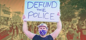 The political debate over 'defund the police'