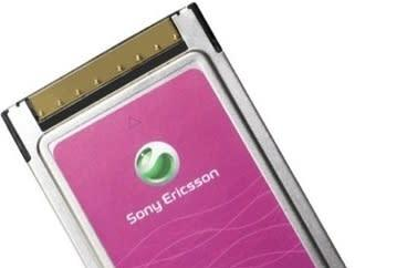 Sony Ericsson's PC300 3.6Mbps data card: better late than never
