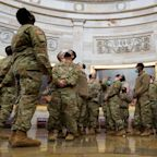 Thousands Of National Guard Troops Forced To Move From U.S. Capitol To Parking Garage